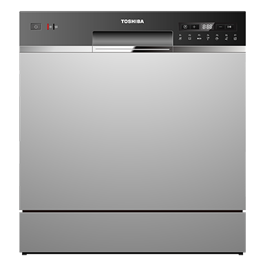 8 Place Setting,  Free Standing Dishwasher, with UV Anti Bacterial Filter