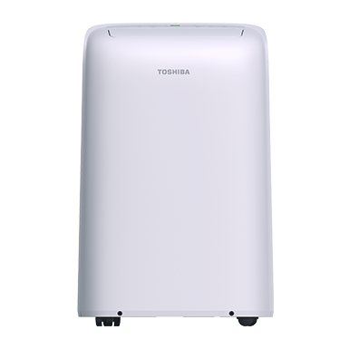 Keep larger rooms cool with the Toshiba 12,000 BTU Portable Air Conditioner. It cools, dehumidifies and ventilates up to 350 square feet of space from anywhere you're connected to Wi-Fi.