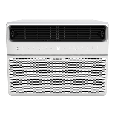 The Toshiba Smart 8,000 BTU Window Air Conditioner includes a smartphone app and voice control that lets you determine your comfort level from anywhere.