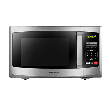 Right-sized for any space, the Toshiba 0.9 Cu.Ft. countertop microwave is the ideal solution for your small kitchen, dorm room or office break room.
