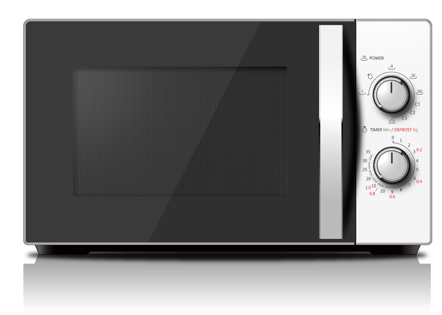 20L Solo Microwave Oven