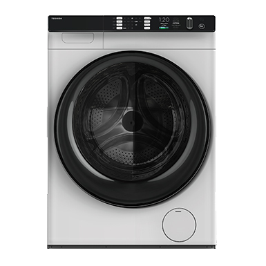 Supporting the same capacity for all phases of the cycle, Toshiba SameLoads allows you to finish your full load of laundry in one go, without the need to reload.
